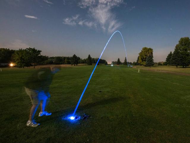 Motion Activated LED Golf Balls. Night Golf, Anyone?