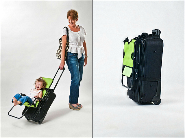 Ride On Carry On Travel Child Seat Getdatgadget