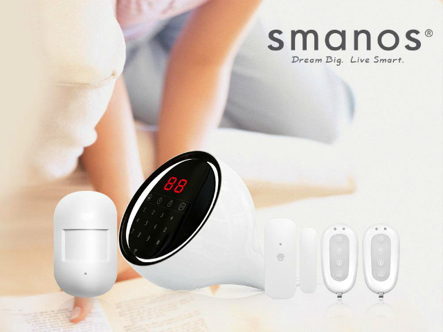 Smanos W100 Dual Network Touch Screen Alarm
