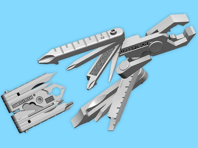 Swiss+Tech Micro-Max 19-in-1 Pocket Tool