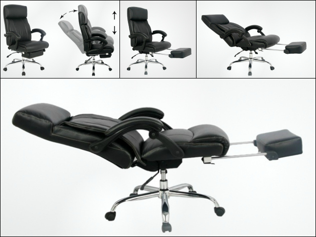chair with leg rest india inexpensive patio cushions viva office executive and managerial - getdatgadget