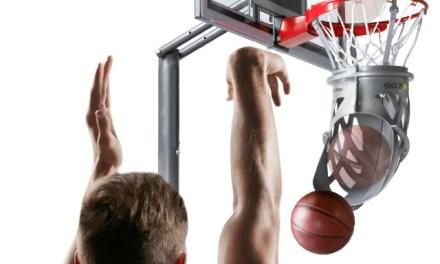 Shoot-Around Ball Return Trains You Into a Basketball Shooting Pro