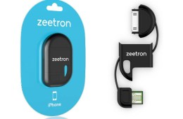 Zeetron Ultra Compact Keychain USB Cable