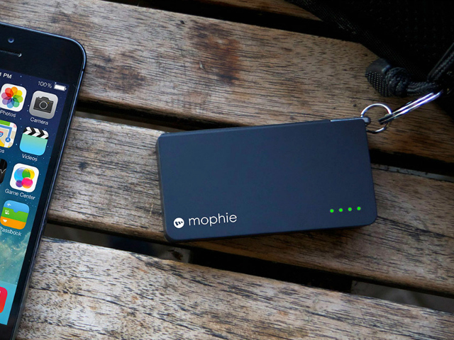 Keychain-Friendly mophie Power Reserve Lightning
