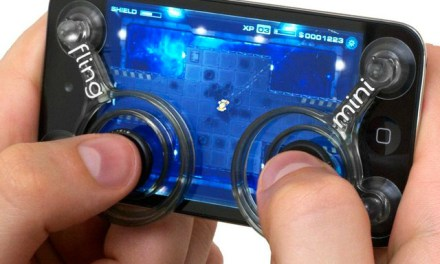 Fling Mini Controller Adds Joysticks to Touch Screens
