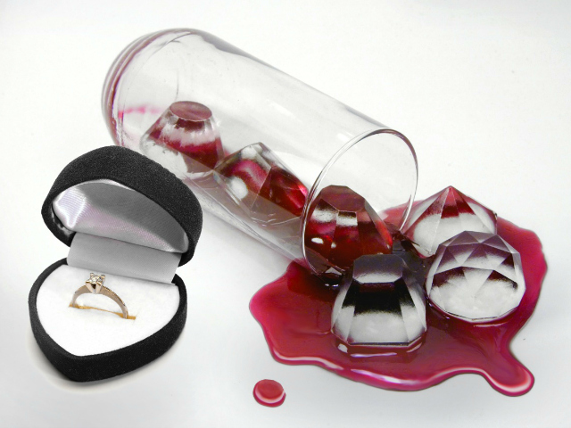 Fred Cool Jewels Ice Cube Tray