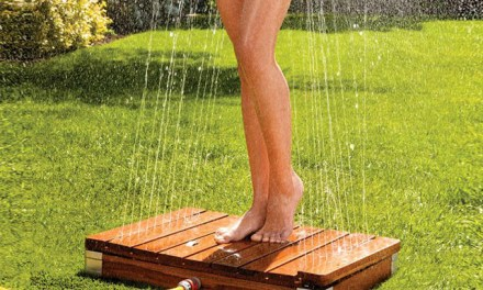 Magic Showerhead Automatic Garden Shower – Step Up and Cool Off