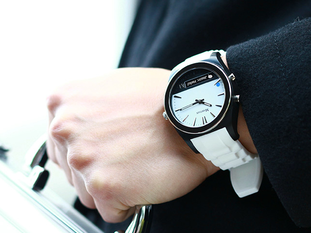 Martian Notifier At Last A Fashionable Smartwatch Getdatgadget