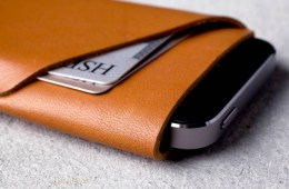 Mujjo iPhone 5 Wallet Carries Only What is Important