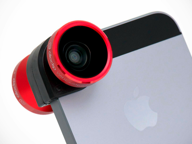 Olloclip for iPhone 5/5s Adds 4 Camera Lenses With a Single Accessory