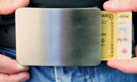 Smart Belt Buckle – Holds up your Pants, Holds Cash & Cards too