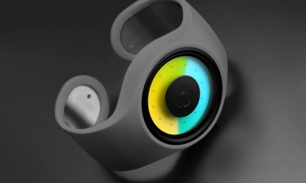 Ziiiro Aurora Watch Tells Time Using Colors