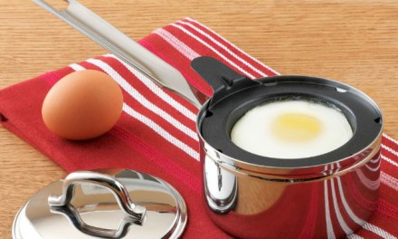 Poach the Perfect Egg with 1 Egg Poacher Set