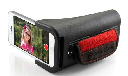 Give your iPhone a Camcorder Grip with the PoiseCam