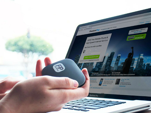 Freedom Spot Mobile Hotspot 100% Free Internet - GetdatGadget