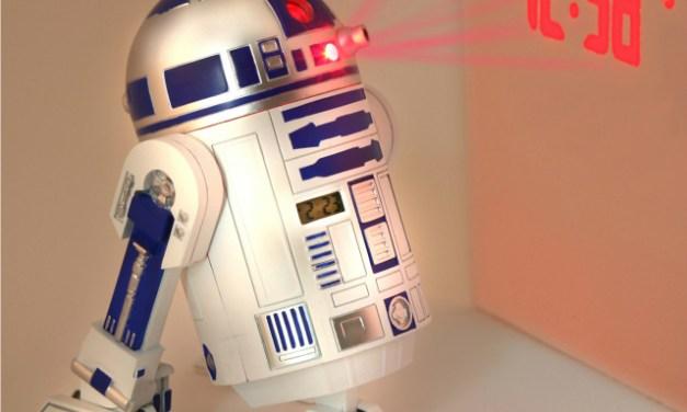 Star Wars R2D2 Projection Alarm Clock