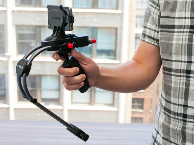 Steadicam Smoothee for GoPro and iPhone for Bounce-Free Video