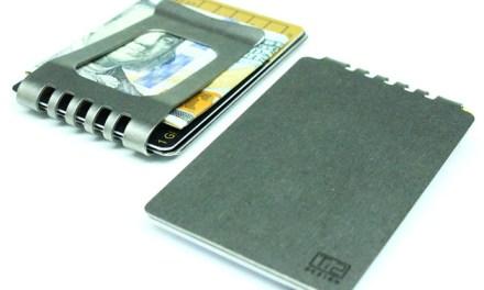 Ti2 Titanium Minimalist Wallet