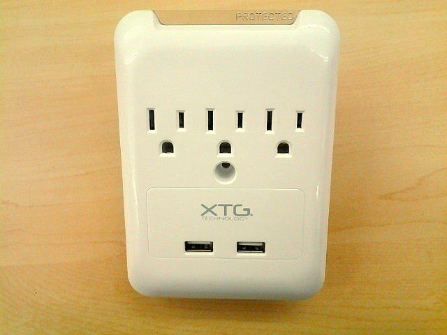 XTG Technology Slim Wall Plate and Surge Protector