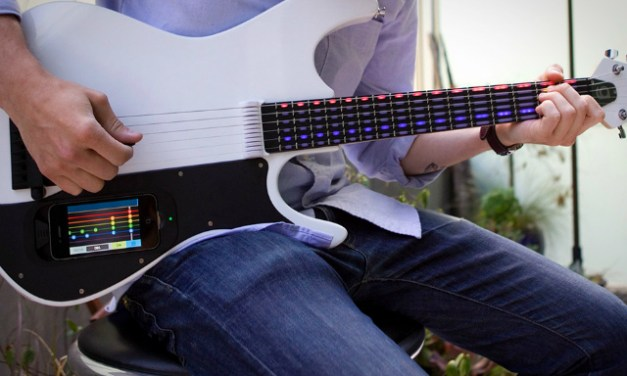 Learn to Play the Guitar with gTar Smart Guitar