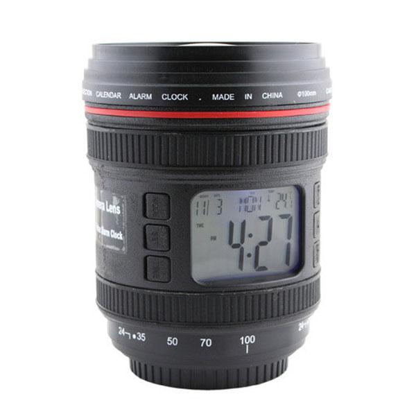 Multifunction Camera Lens Clock