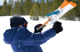 Whamo Snow Crossbow Gives you an Unfair Advantage