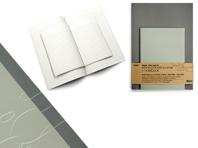 Set Your Writing in Stone with Stone Paper Journal and Notebook