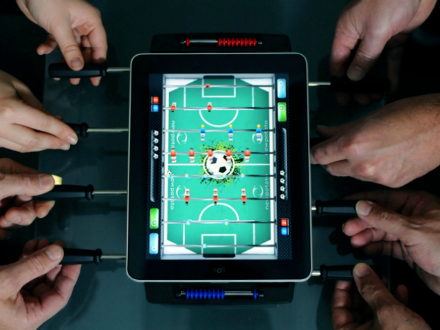 Classic Match Foosball – It's Almost Like the Real Thing