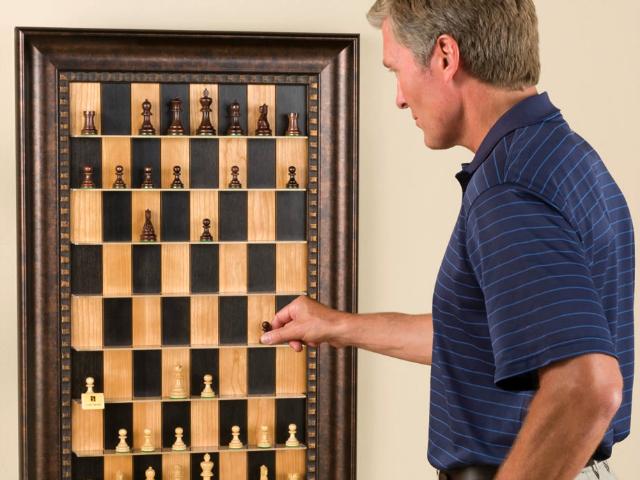 Vertical Chess Set