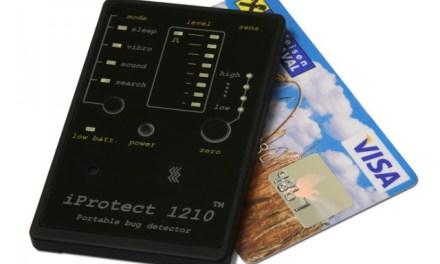Keep the Bugs Away with the iProtect 1210 Portable Bug Detector