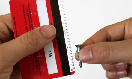 Cardstick Ruler Stickers Turn your Credit Cards into Rulers