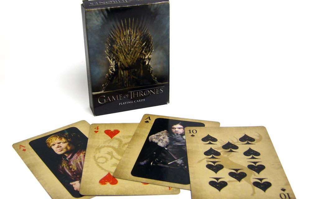 Conquer Westeros with the Game of Thrones Playing Cards