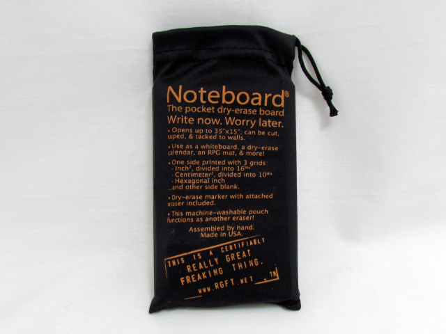 Noteboard Pocket Size Dry Erase Board Foldable And