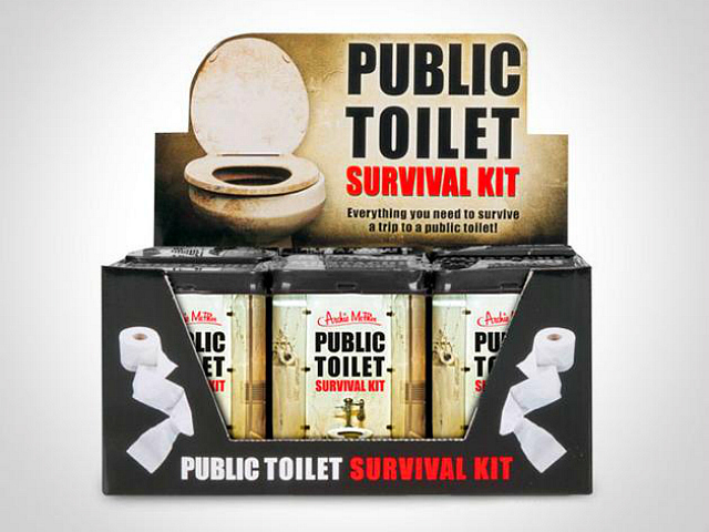 Survive Filthy Toilets with the Public Toilet Survival Kit