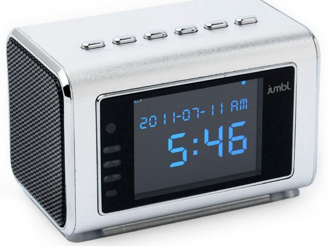 4-in-1 Hidden Camera Radio Clock
