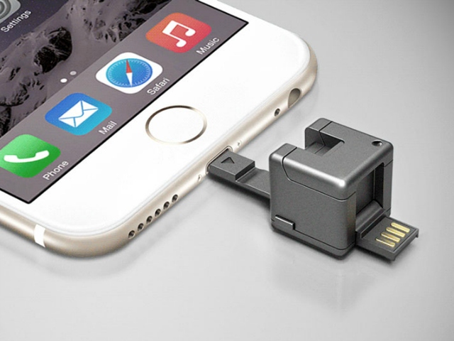WonderCube – Everything your Phone Needs in a Cubic Inch