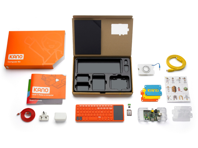 Assemble your Own Computer with the Kano Computer Kit