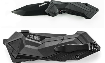 Schrade SCHA3B M.A.G.I.C. Tanto Blade Folding Knife
