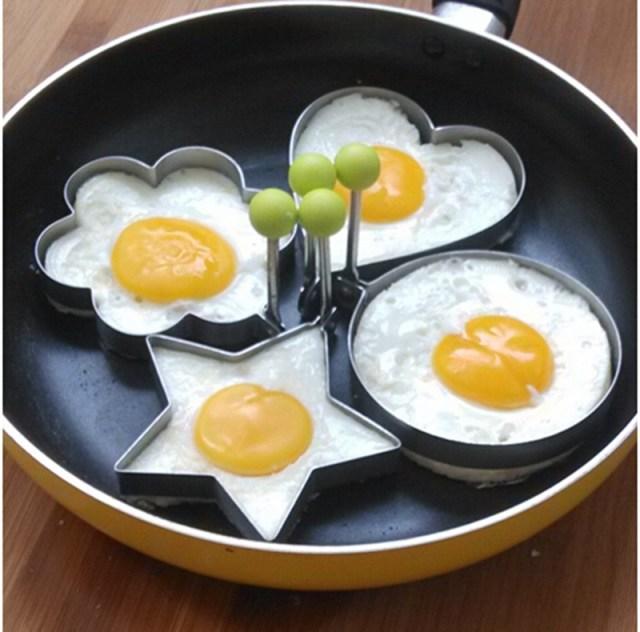 4pcs Fried Egg Shaper