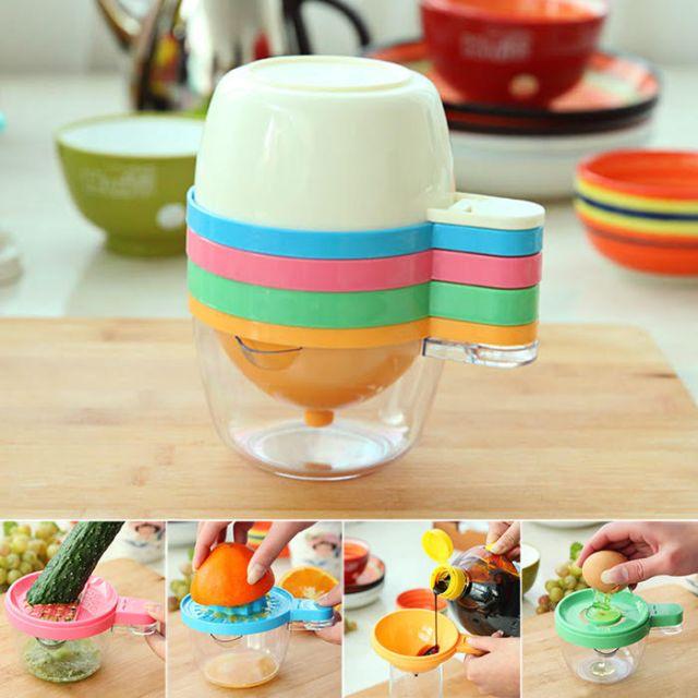 6 in 1 Juicer, Kitchen Filter, Egg Yolk Separator