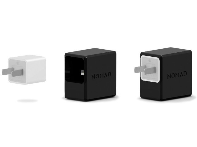 NomadPlus Upcycles Your Apple Wall Adapter Into A Powerbank