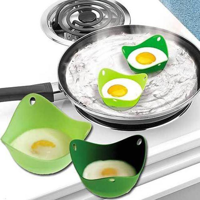 Silicone Egg Poach Pod