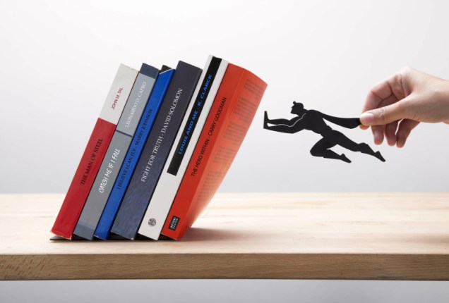 Book & Hero Bookend