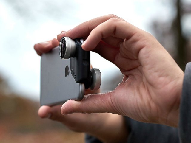 Upgrade Your iPhone Camera With The Olloclip 4-in-1