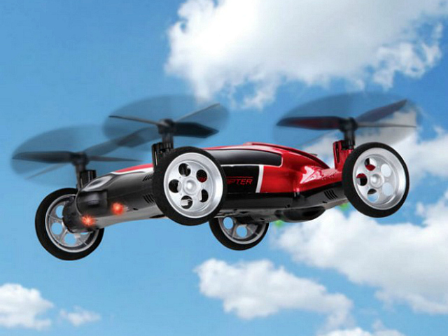 Drive, Fly And Hover With The Protocol TerraCopter