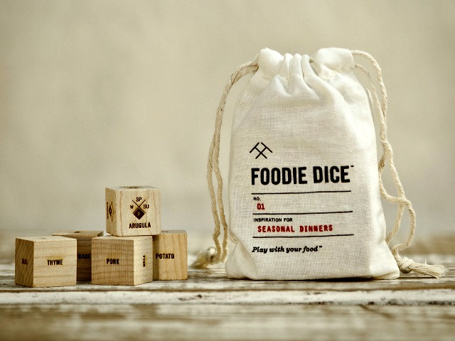 Foodie Dice for the Indecisive Cook