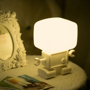 Robot LED Night Light