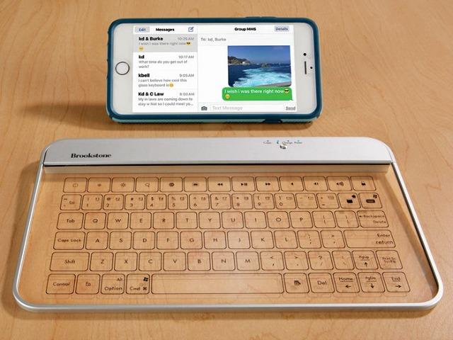 Wireless Glass Keyboard is the Keyboard of the Future