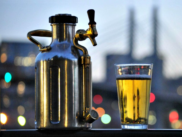 uKeg for Fresh and Cold Craft Beer on the Go