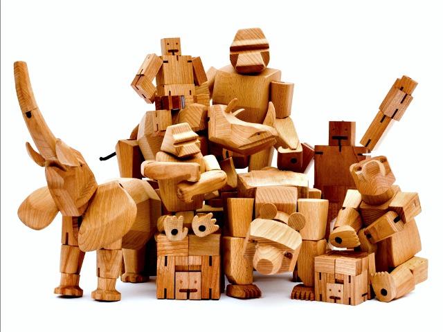 Areaware Wooden Figures by David Weeks
